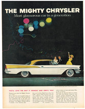 Vintage 1962 Magazine Ad Chrysler The Most Glamorous Car in a Generation - $5.93