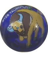 POKEMON MARBLE TAUROS #128 Colored GLASS MARBLE - $8.98