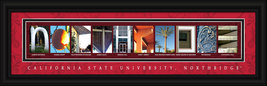 California State University - Northridge Officially Licensed Framed Lett... - $39.95