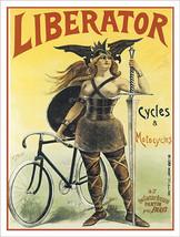 Liberator Bicycle Metal Sign - $19.95