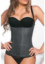 Ann Chery 2028 Semi Vest Latex Waist Cincher Corset Faja Colombian Size ... - $64.98