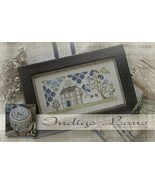 Indigo Lane cross stitch chart  With Thy Needle  - $14.00
