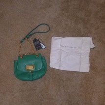 NWT $378 MARC by MARC JACOBS Chain Reaction Robin Crossbody Soccer Green... - $234.99