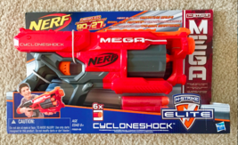 NEW!  Nerf n Strike Mega Elite  Cycloneshock 6x  - $19.98