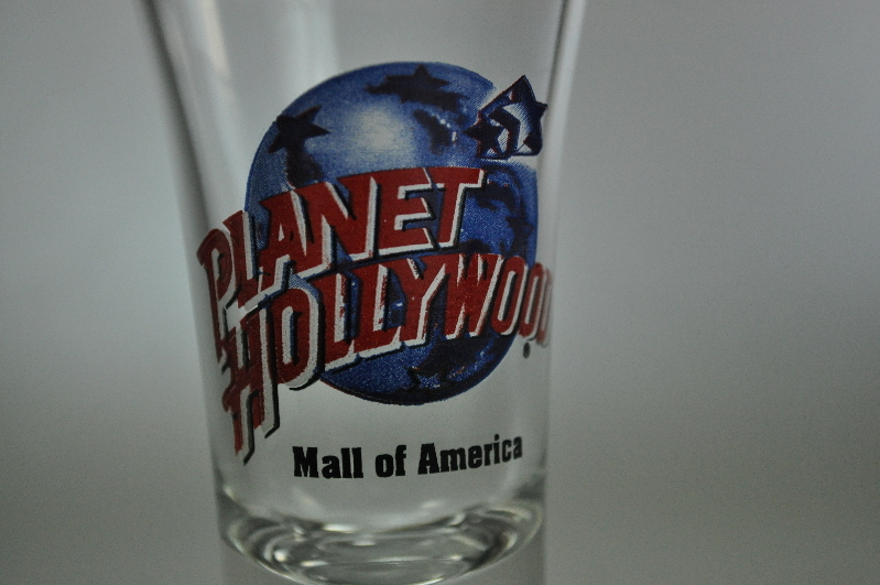 Planet Hollywood Mall of America Flared Shot Glass