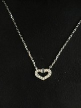 Cartier C Heart diamond necklace Free Shipping 100% Authentic Japan bag - $2,339.67