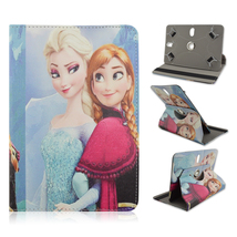 "New Snow Queen Rotary Leather Case Cover For 10.1"" HP Slate 10 HD/Omni 1... - $16.99"