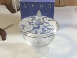 NEW AVON HUMMINGBIRD Crystal Covered Candy Dish  - $24.74