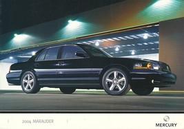 2004 Mercury MARAUDER sales brochure folder 2nd Edition US 04 Grand Marquis - $6.00