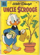 Walt Disney's Uncle Scrooge Comic Book #18, 1957 GOOD+ - $28.91