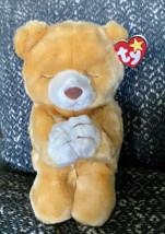 "Ty Beanie Buddy HOPE The Praying Bear 10"" Retired 1999 Vintage Stuffed Animal - $12.20"