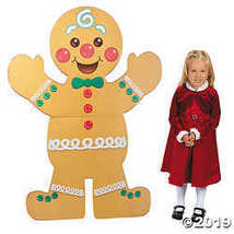Gingerbread Man Christmas Stand-Up by CusCus - $41.24