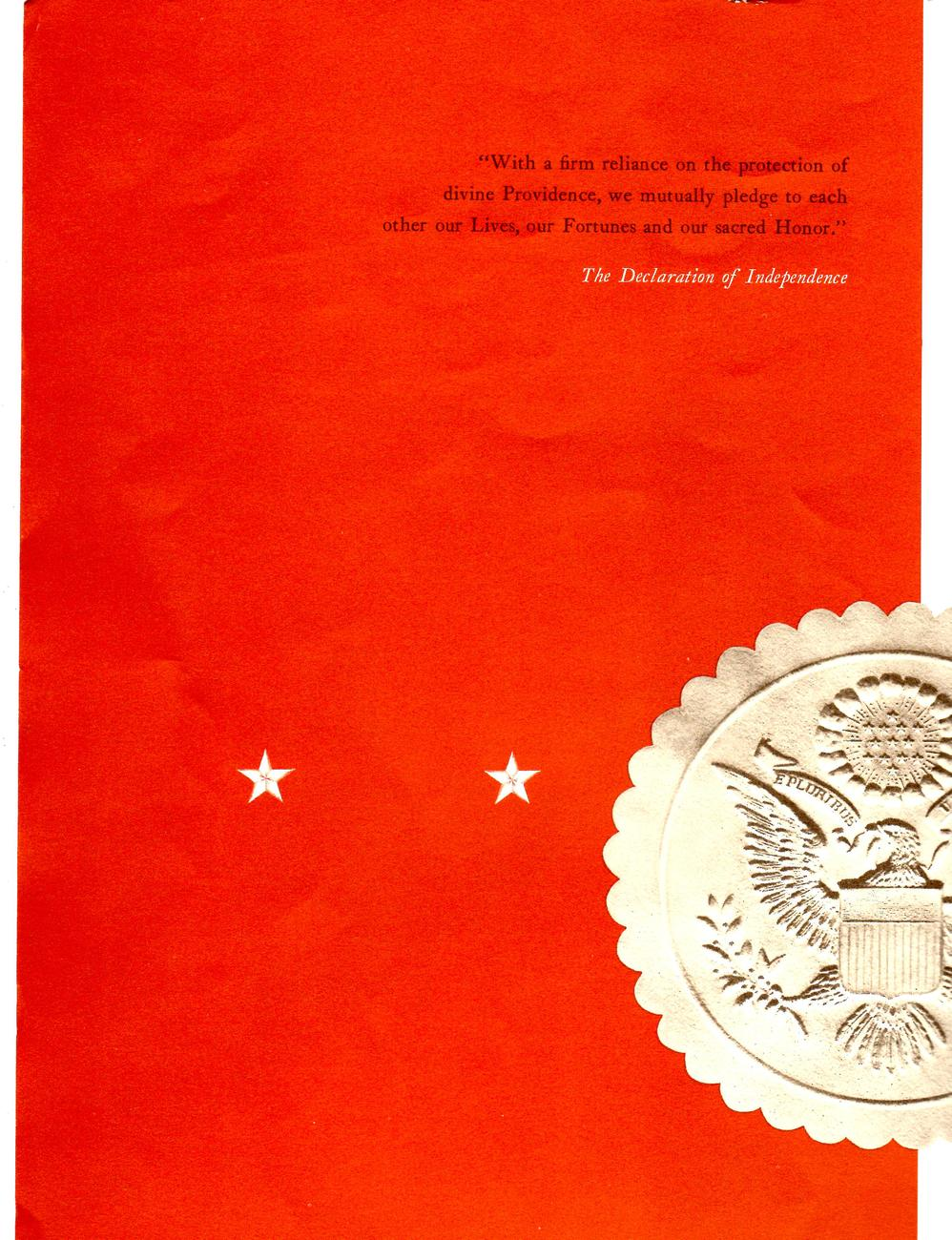 Charters Of Freedom (copyright 1952)