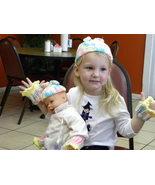 crochet Dolly and Me hat sets - $20.00