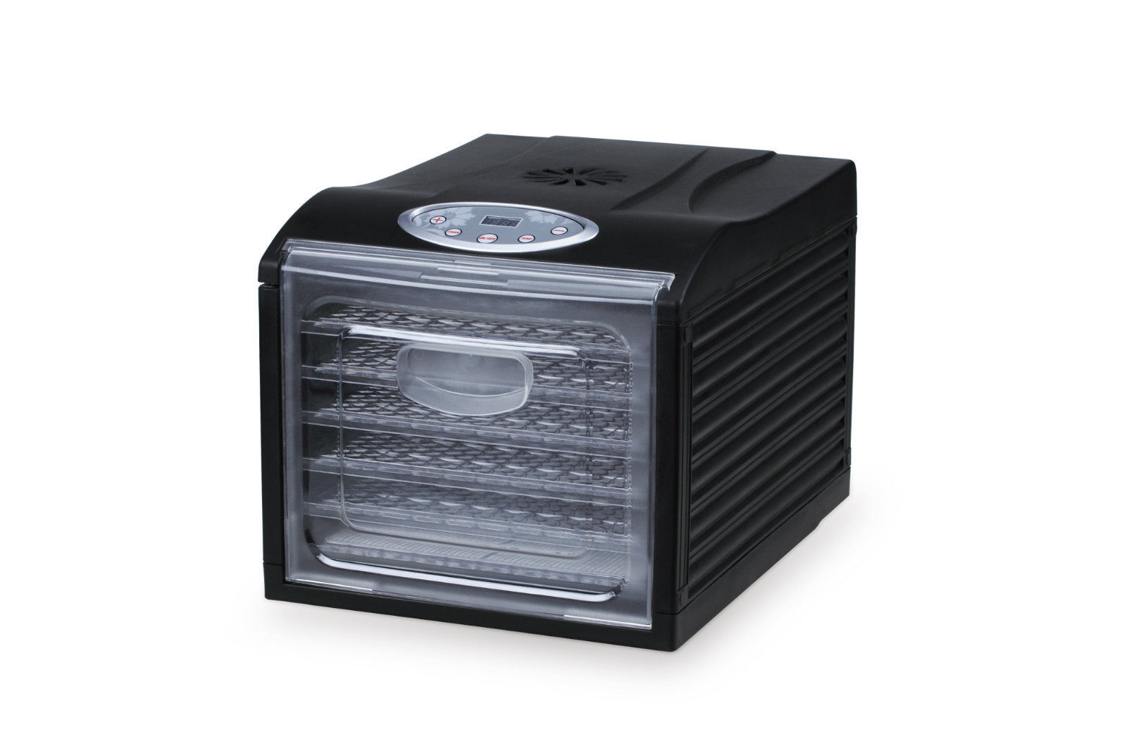 "Samson ""Silent"" 6 Tray Dehydrator with Digital Controls Quiet and Convenient"