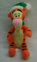 "Walt Disney Winnie The Pooh Winter Tigger W/ Hat & Scarf 6"" Plush Stuffed Animal - $14.85"