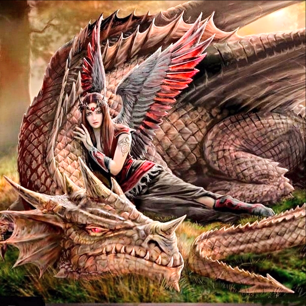 Primary image for Mistress of Dragons! Fairy Warrior Princess Darby! Riches & Adventure! haunted