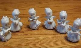 Set of 6 Mini Angel Band White Gold - $15.99