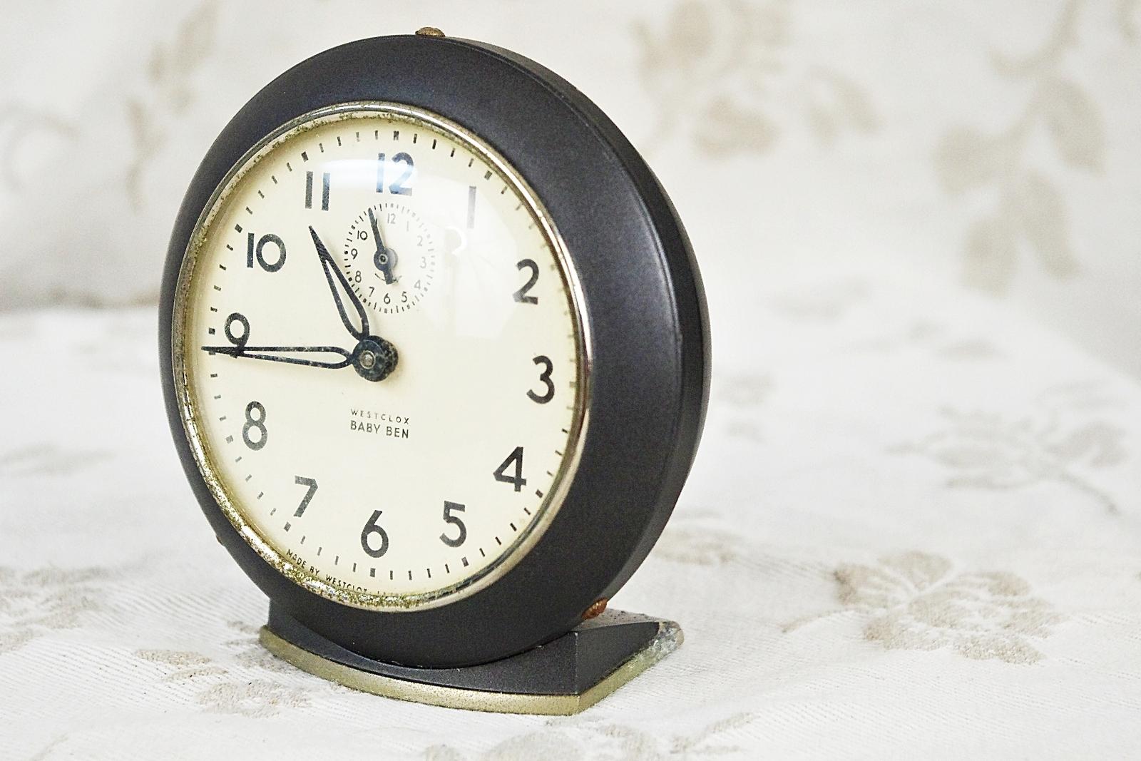 Vintage Westclox Alarm 65
