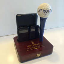 iPhone Dock Stroh's Golf Ball Tap Handle Cigar Box Bar Display Christmas Gift - $39.99