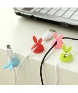4Pcs Set Cute Rabbit USB Cable Cord Wire Holder... - $4.99