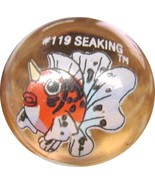 POKEMON MARBLE SEAKING #119 Colored GLASS MARBLE - $8.98