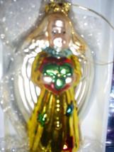 VTG glass ANGEL ornament Christmas 1990 - 2000 ... - $92.36