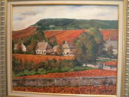 Chambolle Musigny  Grand Crus -original oil pai... - $990.00
