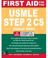 First Aid for the USMLE Step 2 CS, Fifth Edition (First Aid USMLE) - $50.00