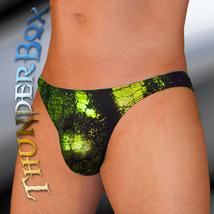 ThunderBox Nylon Spandex Lime Reptile Contour Swim Dance Costume S, M, L, XL - $23.00