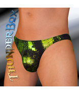 ThunderBox Nylon Spandex Lime Reptile Contour Swim Dance Costume S, M, L... - $23.00