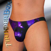ThunderBox Nylon Spandex Purple Reptile Contour Swim, Dance, Costume S, M, L, XL - $23.00