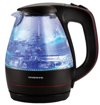 Ovente KG83B Glass Electric Kettle, 1.5-L, Black - $49.99