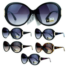 VG Eyewear Diva Womens Round Oversize Butterfly Thick Plastic Sunglasses - $9.95