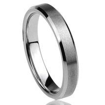 4MM Unisex Titanium Wedding Ring Band; Comfort Fit, Sizes 4-12 with Half... - $27.95