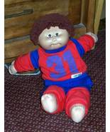 "Cabbage Patch Kids 16"" Coleco Auburn Curls 1985 Boy CPK Orphan - $5.49"