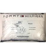 Tommy Hilfiger Standard Size Pillow Firm Down Alternative Back & Side Sl... - $19.75