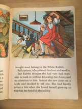 1969 Alice in Wonderland Illustrated Happiness Story Book image 4