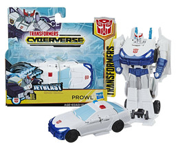 Transformers Cyberverse: Jet Blast Prowl 1-Step Changer New in Package - $12.88