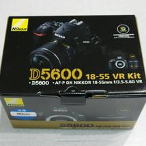 Nikon D5600 Kit w/ AF-P 18-55mm F3.5-5.6G VR Lens Genuine _ image 1