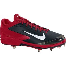 Nike Air Huarache Pro Low Metal Baseball Cleats New Black Red Men's 5992... - $45.80