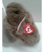 Nibbles TY Classics stuffed brown rabbit retired collectible toy - $7.00