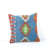 """16""""Turkish cushion throw pillow kilim pillow decorative throw decorative pillow  - $14.00"""