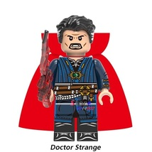 E doctor strange black widow hawkeye pepper captain america thor figure building blocks thumb200