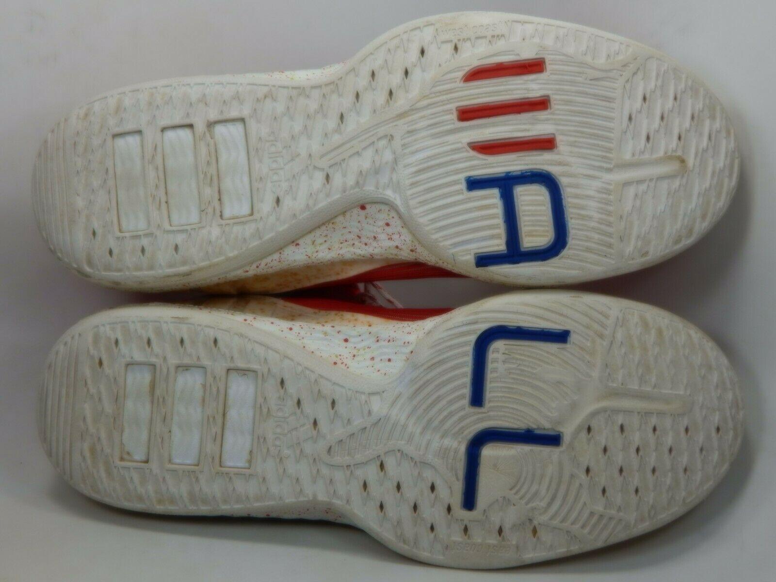 Adidas John J Wall Size 13 M (D) EU 48 Men's Basketball Shoes Scarlet Red S84015