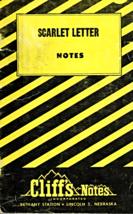 Scarlet Letter -Cliff's Notes - $3.95