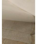 48 INCH X 52 INCH OFF WHITE NETTING VEILING - $6.00