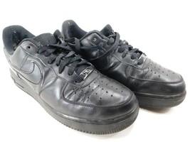Nike Air Force 0.3m07 Größe 9.5 M (D) Gr. 41 Damen Turnschuhe Schwarz 315115