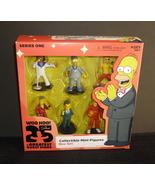 NECA Simpsons Mini Figure Set  25th Anniversary Celebrity Guest Stars Se... - $22.95