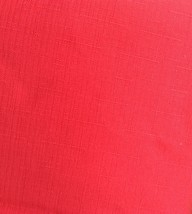 Fabric Tablecloth Round 70 inches Solid Red. Polyester. - $12.50